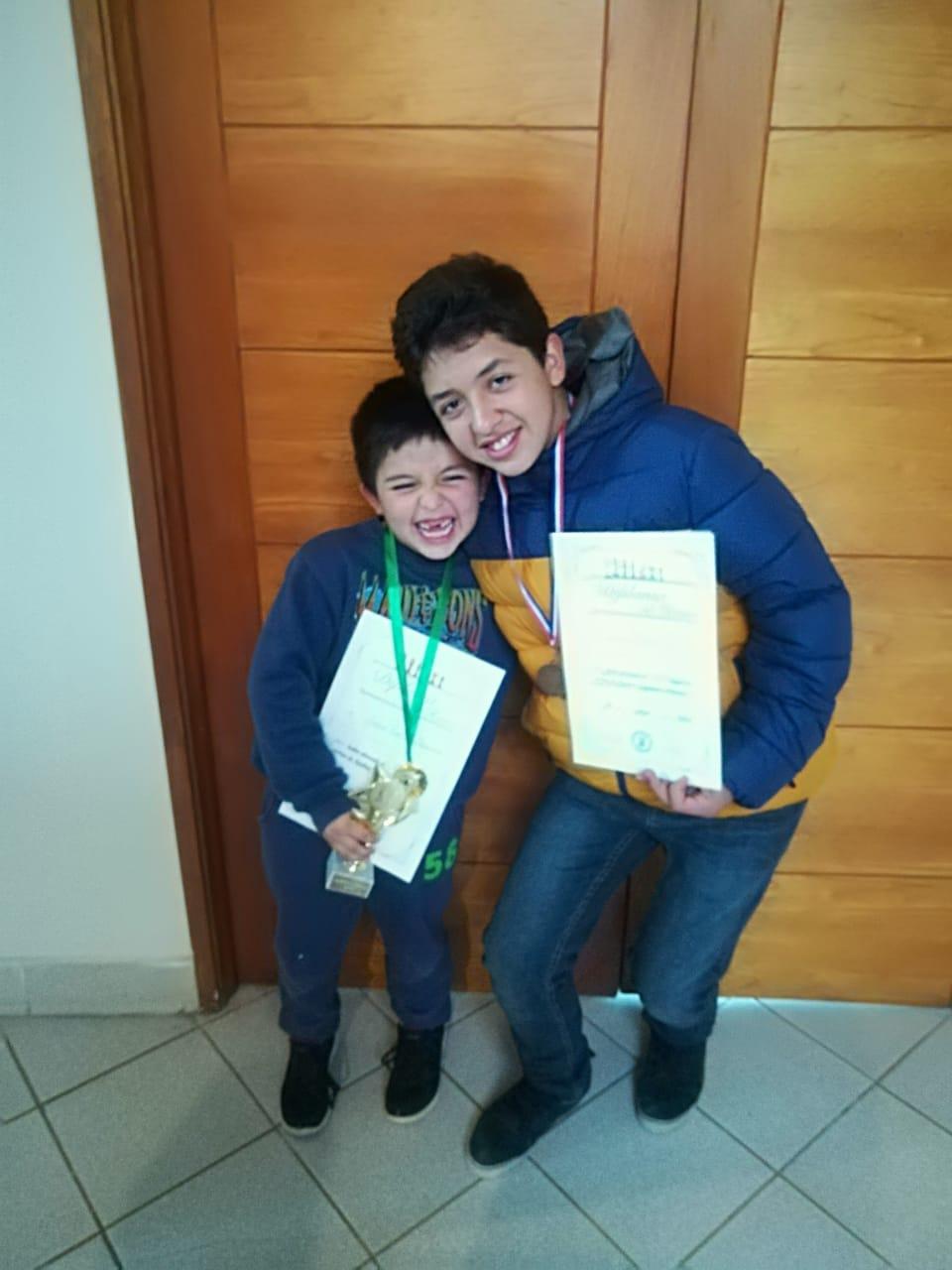 Tom y Javier Fuentes